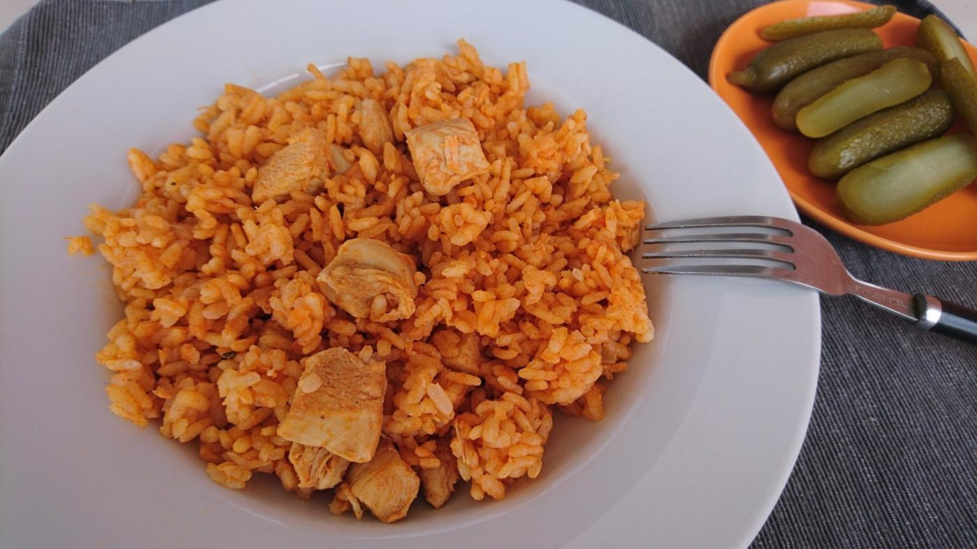 csirke rizs diéta